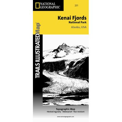 Trails Illustrated Map Kenai Fjords National Park