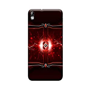 Ebby Premium Printed Mobile Back Case Cover With Full protection For HTC 816 (Designer Case)
