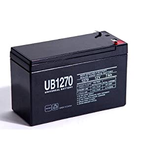 "12 Volt 7 ah Rechargeable Battery with F1 (.187"") Terminals"