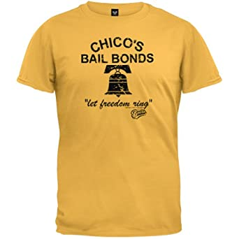 amazoncom bad news bears mens chicos bonds tshirt