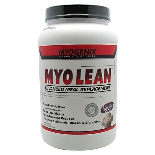 Myogenix Myo Lean, Vanilla, 2.5 Pounds