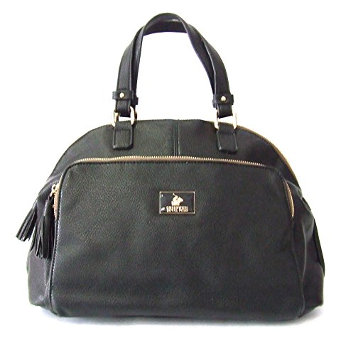 GREENWICH ROYAL POLO - BORSA/BAULETTO DONNA IN ECOPELLE COL.NERO - art. PG16W-138-05 A