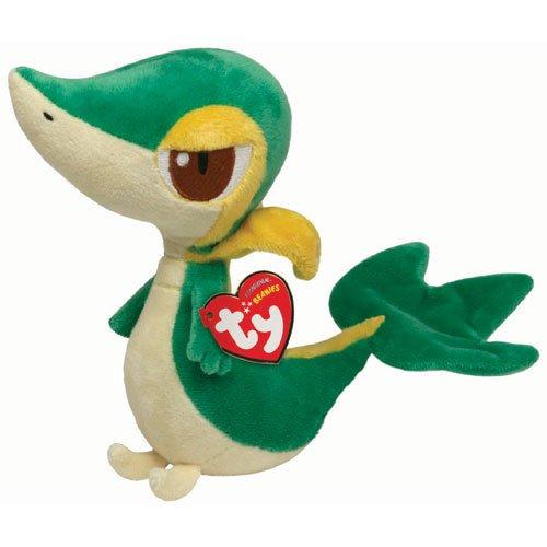 Peluche Snivy de Pokemon - 15 cm