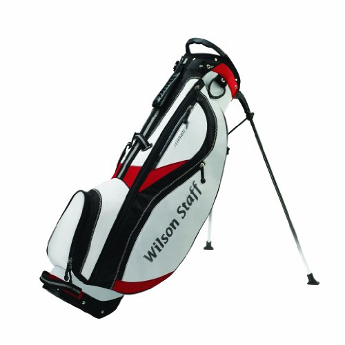 Wilson Staff Pro Feather Mens - White/Black/Red