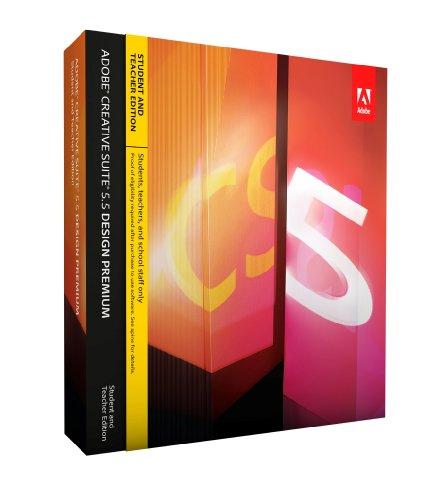 Adobe Creative Suite 5.5 Design Premium, Student & Teacher version (PC)