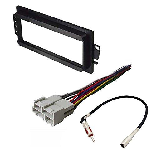 car radio stereo radio kit dash installation mounting wiring harness radio antenna chevrolet gmc isu