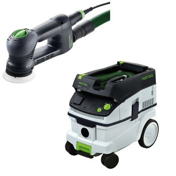 Festool Ro90 Multi-Purpose Sander + Ct 26 Dust Extractor Package front-526589