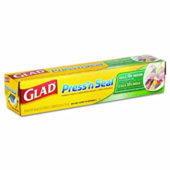 Glad 70441 Press'n Seal Wrap, 70 square feet (Case of 12)