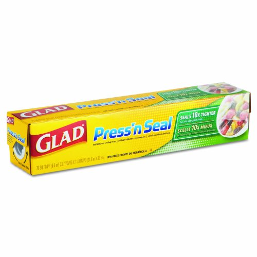 Glad 70441 Press'N Seal Wrap, 70 Square Feet (Case Of 12) back-490764