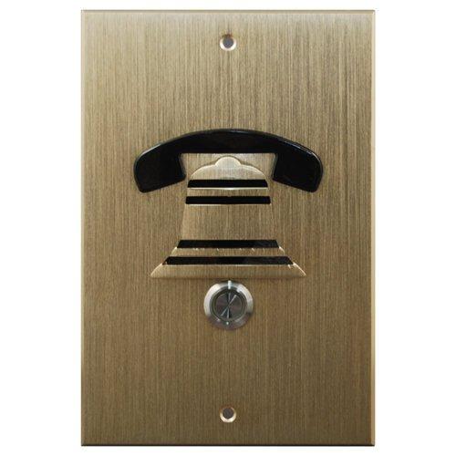 Doorbell Fon Dp38 Extra Door Station, M&S Mount, Brass (Dp38-Nbm)
