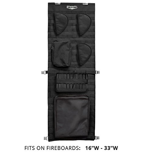 Stealth Molle Gun Safe Door Panel Organizer Small (Molle Door Panel compare prices)