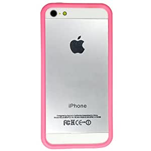Casotec Backless Bumper Case Cover for Apple iPhone 5 / 5S - Pink