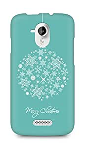 Amez designer printed 3d premium high quality back case cover for Micromax Canvas HD A116 (Merry Christmas)