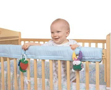 Easy Teether Crib Rail Cover Blue - 1