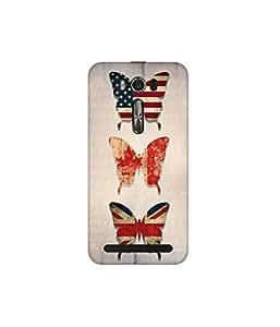Kolor Edge Printed Back Cover for Asus Zenfone 2 Laser ZE550KL - Multicolor (4399-Ke10006Zen2ZE550KLSub)