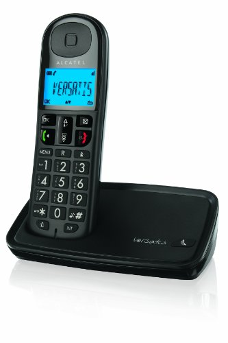 Alcatel Versatis XL 250 Cordless Phone ( DECT,Hands Free Functionality, Elderly Friendly Phone ) image