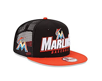 MLB Miami Marlins Trucker Charge 950 Cap