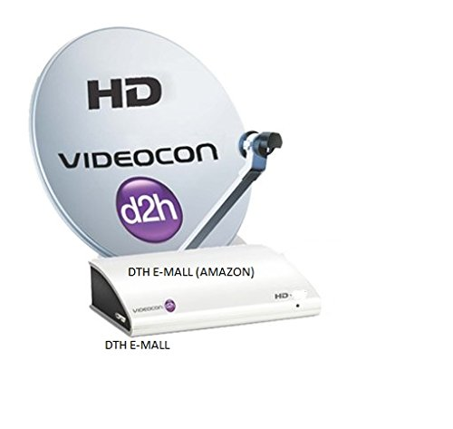 Videocon d2h HD Digital Set Top Box with Unlimited Recording with 1 month  Gold Maxi HD FREE