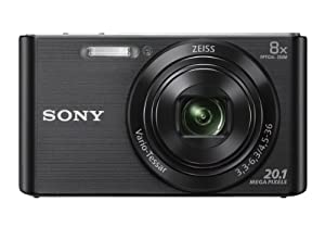 Sony DSCW830/B 20.1 MP Digital Camera with 2.7-Inch LCD (Black)