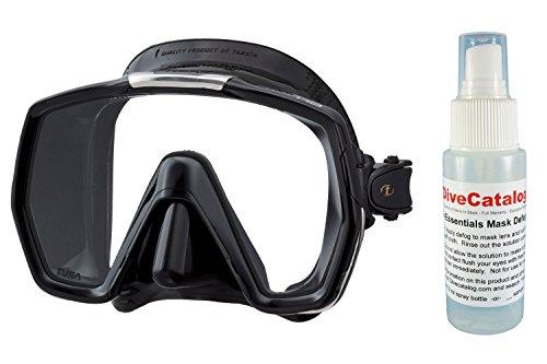 Tusa M1001QB Freedom HD Scuba Diving Mask w/ Free Mask Defog Spray