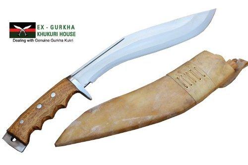 "Genuine Gurkha Khukri - 11"" Blade Gurkha Afghan Issue Gripper Blocker Handle Kukri or Khukuris By Ex Gurkha Khukuri House"