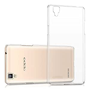 TOS Premium Henks Anti Scratch Clear Transparent Hard Back Case Cover for OPPO F1