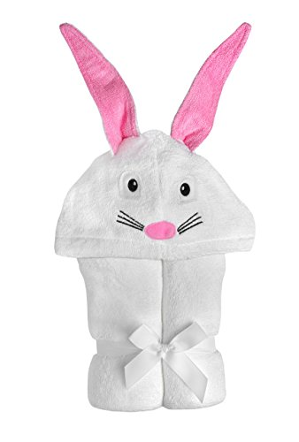 Yikes Twins Child Hooded Towel-bunny - 1