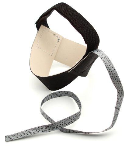 Botron B7503 1 MegOhm Black Standard Heel Grounder
