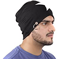 Be a Star Beanie-Black With Ring