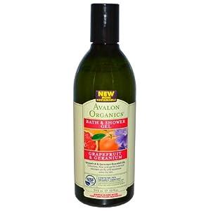 Avalon Organics Grapefruit & Geranium Bath & Shower Refreshing Gel from Hain Celestial