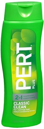 Pert Plus 2 In 1 Shampoo & Conditioner Medium Formula For Normal Hair 13.5 Fl Ounces / 400 Ml (Case Of 6)
