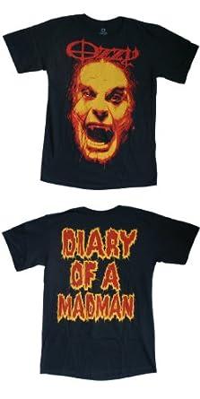 Ozzy Osbourne - Diary Of A Madman T-Shirt Size M