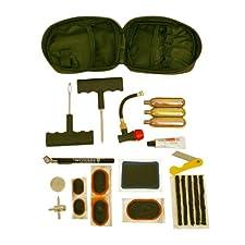 Pit Posse PP3167 Tire Puncture Repair Inflation Inflator Tool Kit Motorcycle ATV Quad Dirt Bike