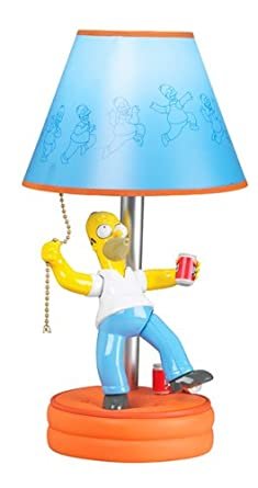 Amazing Homer SIMPSONS Animated Lamp Table Lamps Home Improvement