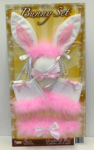 Sexy Deluxe Bunny Costume Accessory Kit Adult