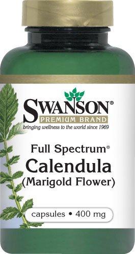 Full-Spectrum Calendula Flower 400 Mg 60 Caps