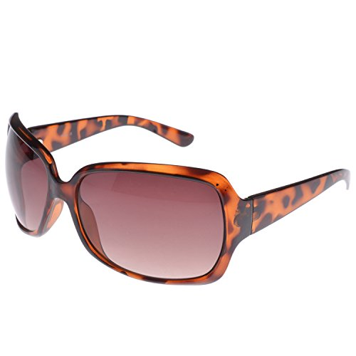 Iris Iris Wrap Brown Sunglasses (Ie129)