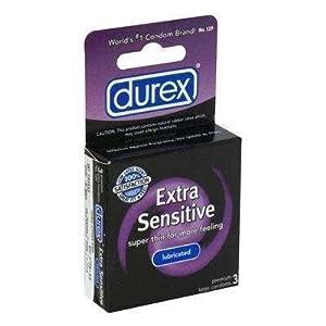 100 Durex Extra Sensitive Condoms