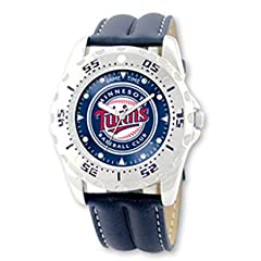 NSNSW25666Q-Mlb Officially Licensed Championship Minnesota Twins Watch - Water... by MLB Officially Licensed