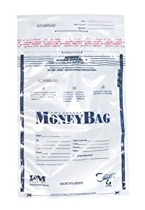 PM Company 997285 9x12 Clear Deposit Bags - 100