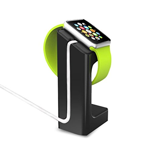 Charging Dock/ Station/ Platform Apple Watch Charging Dock / Station / Platform iWatch Charging Stand Bracket Docking Station Holder for 2015 Apple Watch [38mm and 42mm] - Compatible with Both Models bend eyepiece for foif total station electronic theodolite all models