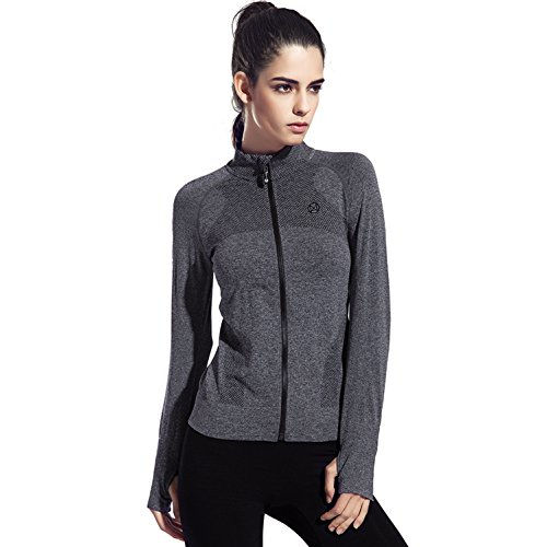 Speedle-Womens-Stretch-Running-Workout-Yoga-Full-Zip-Jacket-with-Thumb-Holes