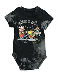 Paul Frank Baby Boys Creeper Romper Snapsuit