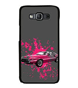 ifasho Designer Phone Back Case Cover Samsung Galaxy On7 G600Fy :: Samsung Galaxy Wide G600S :: Samsung Galaxy On 7 (2015) ( Skull Cool Classy Vintage Look Style )