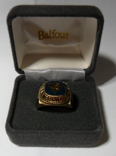 Balfour NBA Golden State Warriors Ring Size 10.5 Gold