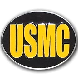US Marines Belt Buckle - NCAA College Athletics Fan Shop Sports Team Merchandise