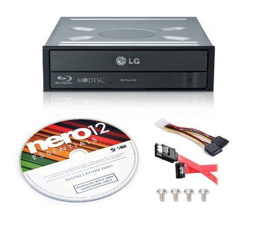 LG WH16NS40 16X Blu-ray BD/BDXL/MD M-DISC Burner Drive 3D Pl