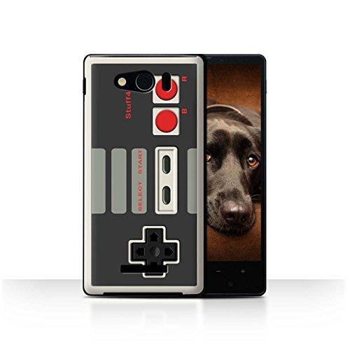 STUFF4 Phone Case / Cover for Sharp Aquos Xx Mini 303SH / Nintendo Classic Design / Games Console Collection (Sharp Aquos Nintendo Case compare prices)