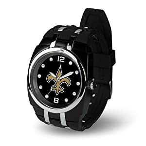 Brand New New Orleans Saints NFL Crusher Series Mens Watch by Things for You