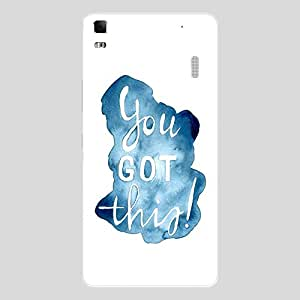 Back cover for Lenovo K3 Note You Got This !